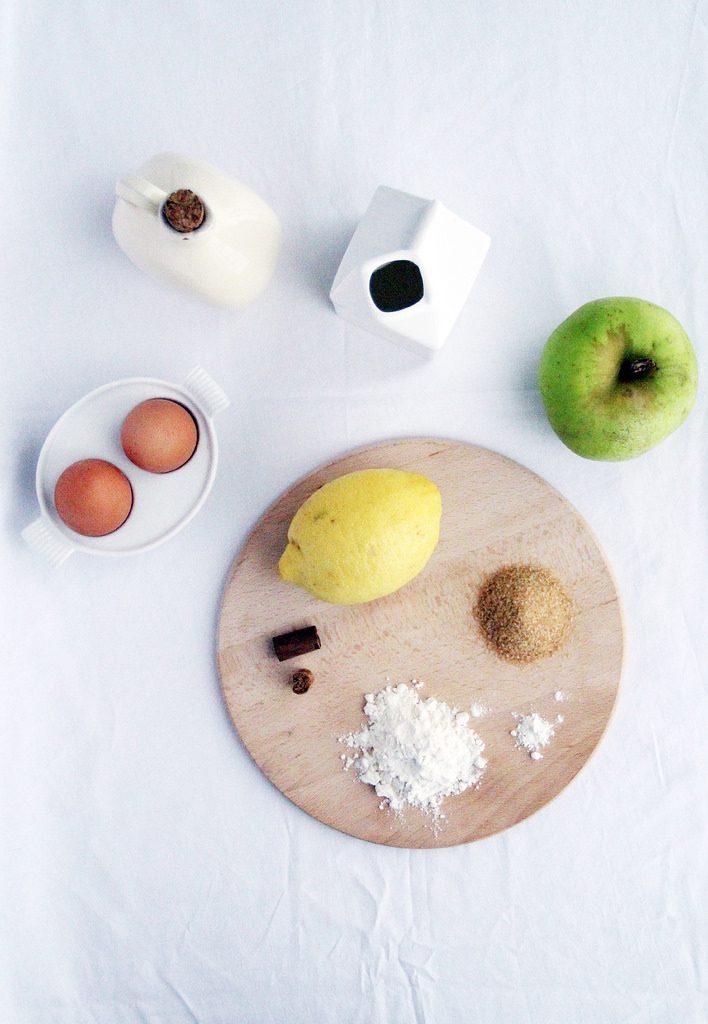 Ingredienti per Dolce di Mele e Cannella