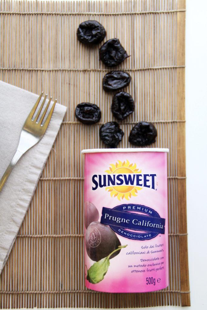 Prugne secche Sunsweet nel vasetto