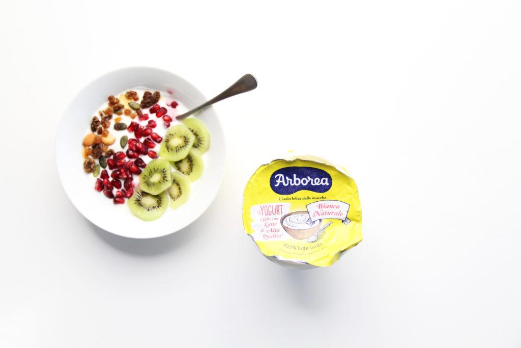 Yogurt a colazione