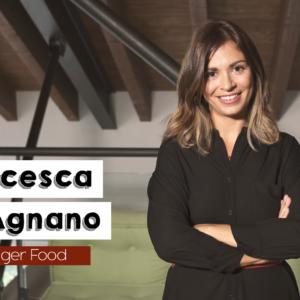 Francesca Singerfood prima dell'inizio della video ricetta